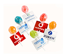 Ball Lollipops with Tags