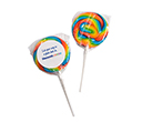 Medium Rainbow Candy Lollipops