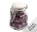 Rock Candy in Clip Lock Jars 65 grams