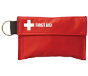 34pc First Aid Pouch on Keyrings