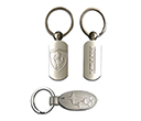 Car Dealer Metal Keyrings
