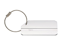 Brushed Aluminium Luggage Tags