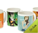 Evandale Porcelain Plus Mugs