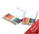 Coloured Pencils in a PVC Pouch 6 Pack