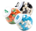Corporate Colour Mini Jelly Beans in Containers